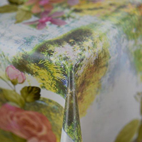 Discover Direct Anita Muster, abwischbare PVC-Tischdecke, Vinyl, Cover Protector in Breite 140cm-Meterware