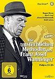 Die unsterblichen Methoden des Franz Josef Wanninger - Box 5, Folgen 13-24 [2 DVDs]