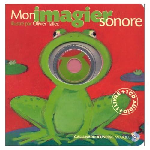 Mon imagier sonore (1 livre + 1 CD audio)