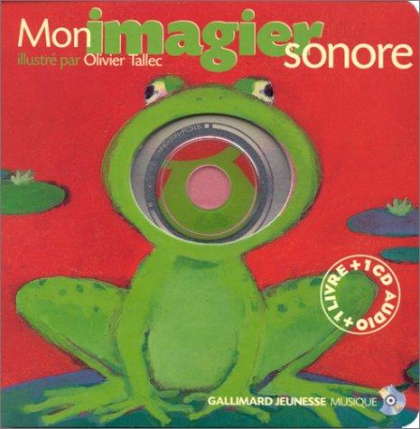 Mon imagier sonore (1 livre + 1 CD audio) par Collectif