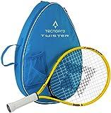 Tecnopro Kinder Twister 19 Tennis-Set, Gelb/Schwarz, One Size