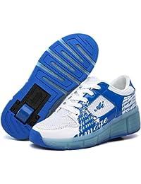 Zapatillas Con Ruedas Zapatos Deportivas Sports Running Para Adulto Niño Niñas y Luces