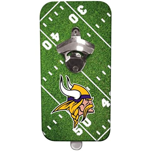 Minnesota Vikings Clink N Drink-Apribottiglie magnetico