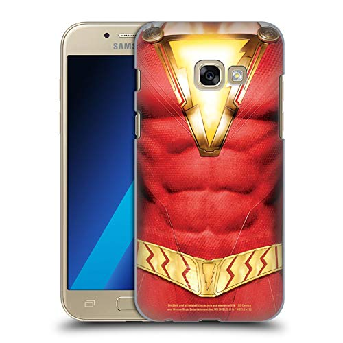 Head Case Designs Offizielle Shazam DC Comics Kostuem Logos Harte Rueckseiten Huelle kompatibel mit Samsung Galaxy A3 (2017)