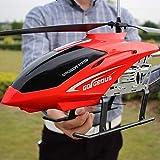 Ycco Gran helicóptero al aire libre RC Drone Juguete for niños Carga USB 3.5 canales RC Drone Helicóptero Juguetes con luz LED de color Vuelo nocturno en el cielo Regalos for adolescentes Niños Chicas