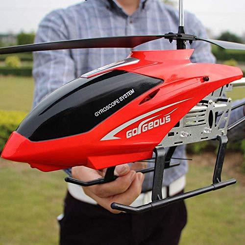 Ycco Große Outdoor Hubschrauber RC Drone Spielzeug for Kinder USB Lade 3,5 Kanäle RC Drone Hubschrauber Spielzeug mit Farbe LED-Licht Nachthimmel Flug Geschenke for Jugendliche Jungen Mädchen Geschenk