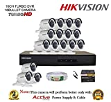 Hikvision 16 CCTV Camera DVR Kit at amazon