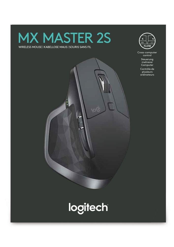d2a0210ac1 Logitech MX Master 2S Souris sans fil / Souris Bluetooth pour Mac et  Windows - Graphite