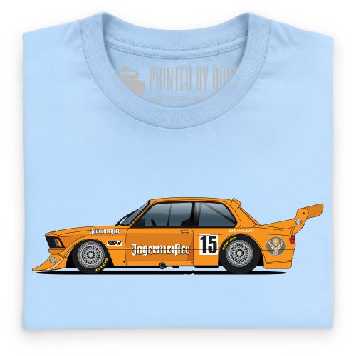 General Tee Bimmer E21 Executive Car T-Shirt, Damen Himmelblau