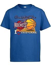Camiseta NBA Houston Rockets Baloncesto Basketball fan I Love This Game