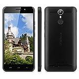 "Ulefone Metal - 4G Smartphone Libre Multitáctil Android 6.0 (Pantalla HD 5.0"", 1.3GHz MT6753 Octa Core, 3GB RAM 16GB ROM, 8.0MP Cámara, GPS, WIFI, Touch ID, Dual SIM) (Negro)"
