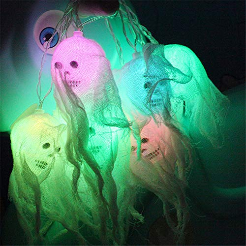 Halloween decoration TAOtTAO Happy Halloween Decorations Pumpkin Skull LED String Lights Horror Home...