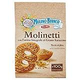 Mulino Bianco Biscotti Frollini Molinetti, Colazione Ricca di Gusto - 800 gr
