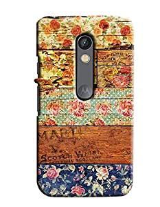 Expert Deal Best Quality 3D Printed Hard Designer Back Cover For Motorola Moto X Play