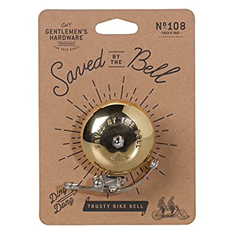 Trusty Bicycle Bell - Saved By the Bell Gentlemen's Hardware (Brass Bell Hardware)