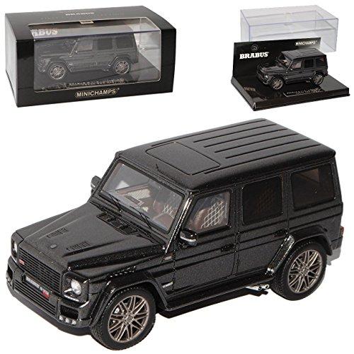 mercedes-benz-g-klassse-v12-widestar-brabus-grau-schwarz-g63-1-43-minichamps-modell-auto-mit-individ