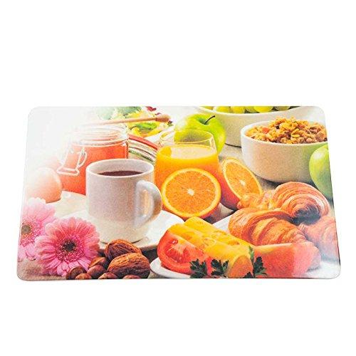 Colour-Bags Home & Living Frühstücksbrettchen/Schneidebrettchen Good Morning, 13 x 22 cm, aus Melamin lebensmittelecht - für DE kostenlose Lieferung ab EUR 29,00