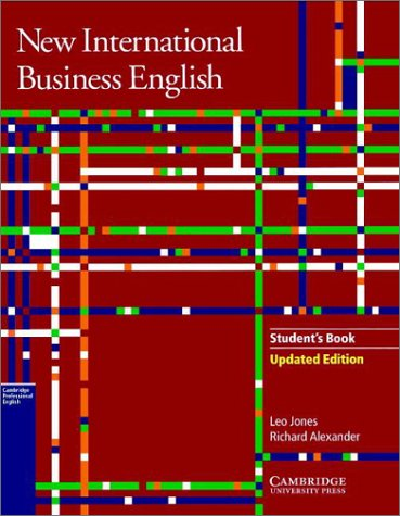 New International Business English Updated Edition Student's Book: Communication Skills in English for Business Purposes (Hors Catalogue)