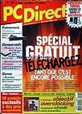 PC DIRECT [No 127] du 01/10/2003 - SPECIAL GRATUIT - TELECHARGEZ - COMPARATIFS - COMMENT REFROIDIR VOS PROCESSEUR.