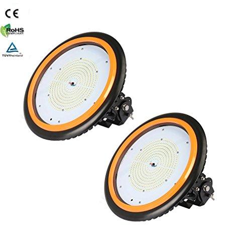 2 x ANTEN Industrielampe LED Strahler 150W Arbeitsleuchte Werkstatt 22000LM 120°Abstrahlwinkel wasserdichte Aussenleuchte LED mit 4000-4500K Neutralweiß TÜV-Zertifikat 5 Jahre Garantie