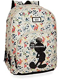 Disney True Original - Mochila escolar, 44 cm, 30.98 litros, Multicolor