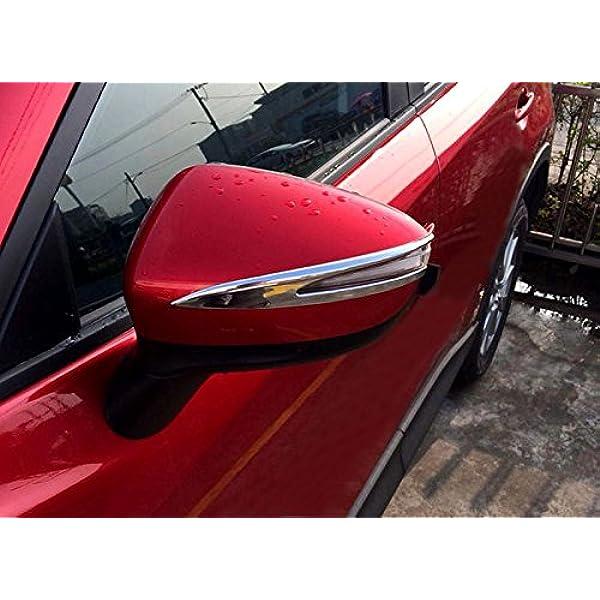 Rückspiegel Seitenspiegel Cover Dekor Chrom 2 Stück Für Cx 3 Cx3 2015 2018 Auto