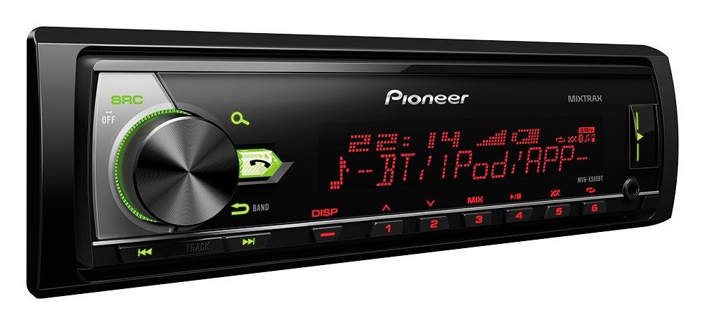 Pioneer-MVH-X580BT-1DIN-Autoradio-mit-RDS-Bluetooth-USB-AUX-Eingang-Bluetooth-Freisprecheinrichtung-Kompatibel-mit-Android-und-iPodiPhone-Spotify-Direktsteuerung