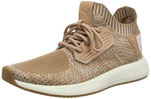 Puma Unisex-Erwachsene UPRISE Knit Sneaker, Orange (Dusty Coral-Whisper White-Gum 04), 38 EU