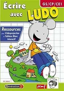 Ecrire avec ludo (gs-CP-CE1) - ressources tbi/videoprojection
