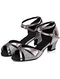 W&LM LMe Fond Doux Chaussures Latines Chaussures CarréEs Relation Amicale Danse