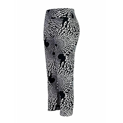 51DKZ8IuEyL. SS500  - Tonsee® Womens High Waist Fitness YOGA Sport pants Printed Stretch Cropped Legging