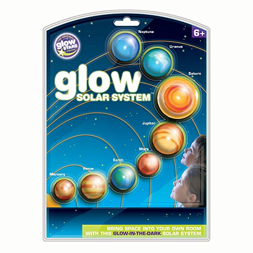 Brainstorm B8500 - The Original Glowstars Company, sistema solar que brilla en la oscuridad