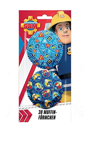 Minuten Kostüme Einfache Fünf (Feuerwehrmann Sam 30 teiliges Muffin Backset)
