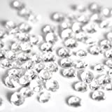 2x 5000 CLEAR WEDDING TABLE DIAMONDS CONFETTI SCATTER CRYSTALS - HIGH QUALITY - FOR 6 TO 8 TABLES by Wedding Bliss