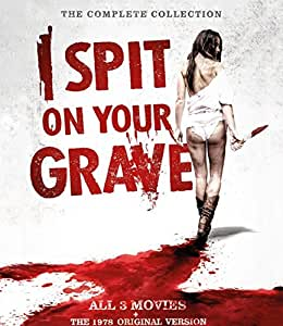 I Spit on your Grave - 1 + 2 + 3 + The 1978 Original Version - Uncut 4 DVD Box - The Complete Collection - Camille Keaton (Actor), Sarah Butler (Actor), Meir Zarchi (Director), Steven R. Monroe (Director) Rated: Suitable for 18 years and over