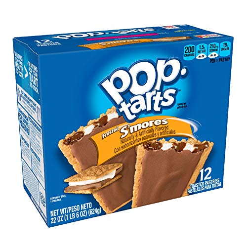 Kelloggs® - POP TARTS | S'MORES (Frosted) | 12 Törtchen | 624 g