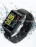Smartwatch IP68, Reloj Inteligente Hombre con 8 Modos Deporte, Reloj Deportivo, Monitor de sueño, Pulsómetro, Podómetro, Notificación Llamada y Mensaje, Cámara Remoto para Andriod y iOS[Renovado]