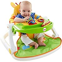 Baby Play Feeding Chair Sit Me Up Floor Seat Support Fisher Price Toy Giraffe