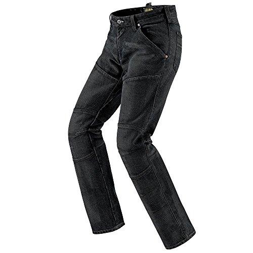 Spidi - Pantaloni da Moto in Tessuto Cruel Jeans, Super Stone Wash, 38