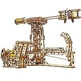 Handmade story Puzzle 3D Maquette,Kit de modèle aéroport,d'avion Jouets,Puzzle en Bois 3D Casse-tête découpé au Laser - Cadeau d'anniversaire/Noël pour Filles et garçons