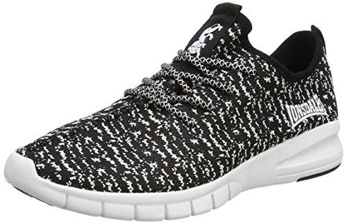 Lonsdale Carlos, Chaussures de Running Compétition Homme Blanc (Blanc/noir)