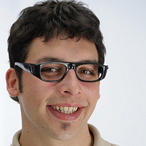 Neon Party Brille zum Kostüm Rockstar Popstar im Stil der 80er 90er Jahre - (Rockstar Erwachsene Für Kostüme)