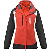 Desholle N612 Geographical Norway Damen Softshell Outdoor Funktions Jacke mit Kapuze