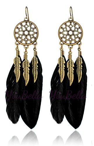 YouBella Fashion Jewellery Bohemian Stylish Afghani Tribal Fancy Party Wear Earrings for Women Traditional