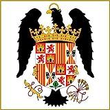 magFlags Bandera Large Pabellón Real de los Reyes Católicos 1492-1504   1.35m²   120x120cm