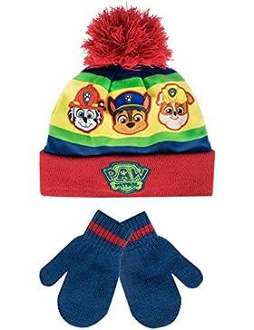 Paw Patrol - Conjunto de gorro y guantes para niño