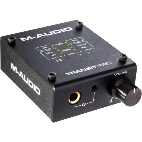 M-Audio Transit Pro 32-Bit/384 KHz DSD USB Audio-Digitalwandler mit Kopfhörervorverstärker