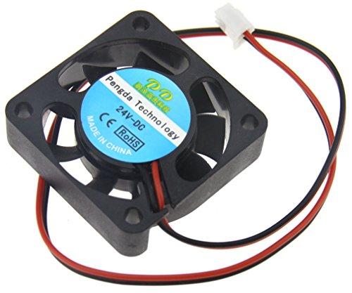 Preisvergleich Produktbild Lüfter 24V 40*40*10mm 3D Drucker Hotend Kühler Fan 2Pin für RepRap Mendel Prusa