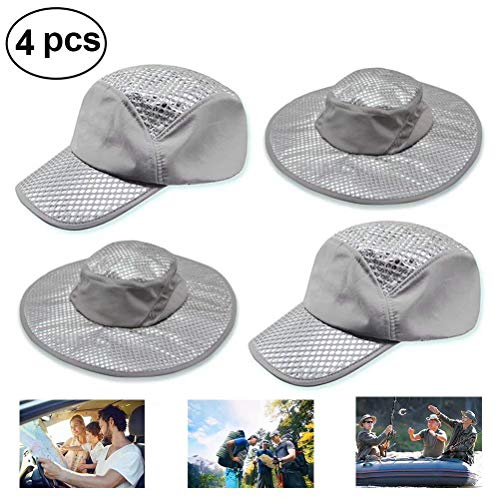 2bad90e25 Beaulies 2019 New Cooling Hat, Sun Hat, Arctic Ice Hat Wide Brim Cap,Summer  Outdoor Sun Protection Cooling Air Conditioning Cap Ice Cap for Women/Men  ...