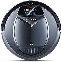 LIECTROUX B3000 Robot Aspirador con Auto Carga LED Pantalla Táctil con Tono HEPA Filtro Dos Lados
